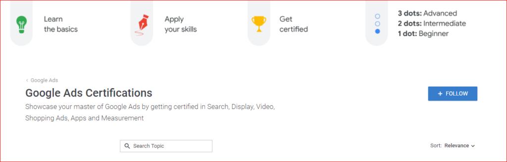 Google AdWords Certification